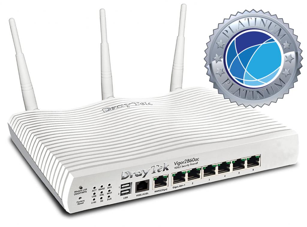 Draytek 2860ac WiFi Router